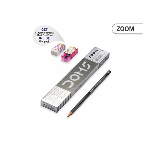 DOMS ZOOM PLAIN PENCILS