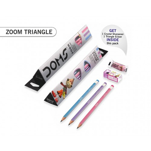 ZOOM TRIANGLE PENCILS