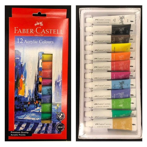 ARTIST WATER COLOUR TUBE 20ML (12 Shades)
