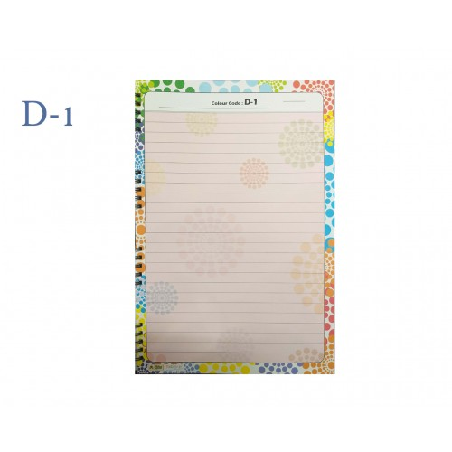 A4 DESIGNER COLOUR SHEET'S (D-1)