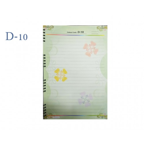 A4 DESIGNER COLOUR SHEET'S (D-10)