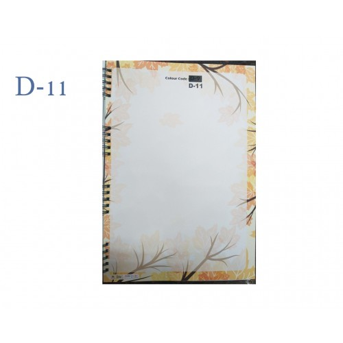 A4 DESIGNER COLOUR SHEET'S (D-11)
