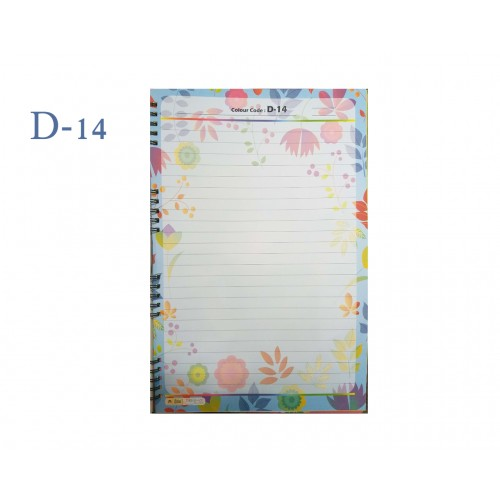 A4 DESIGNER COLOUR SHEET'S (D-14)